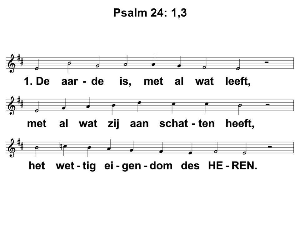 Psalm 24: 1,3