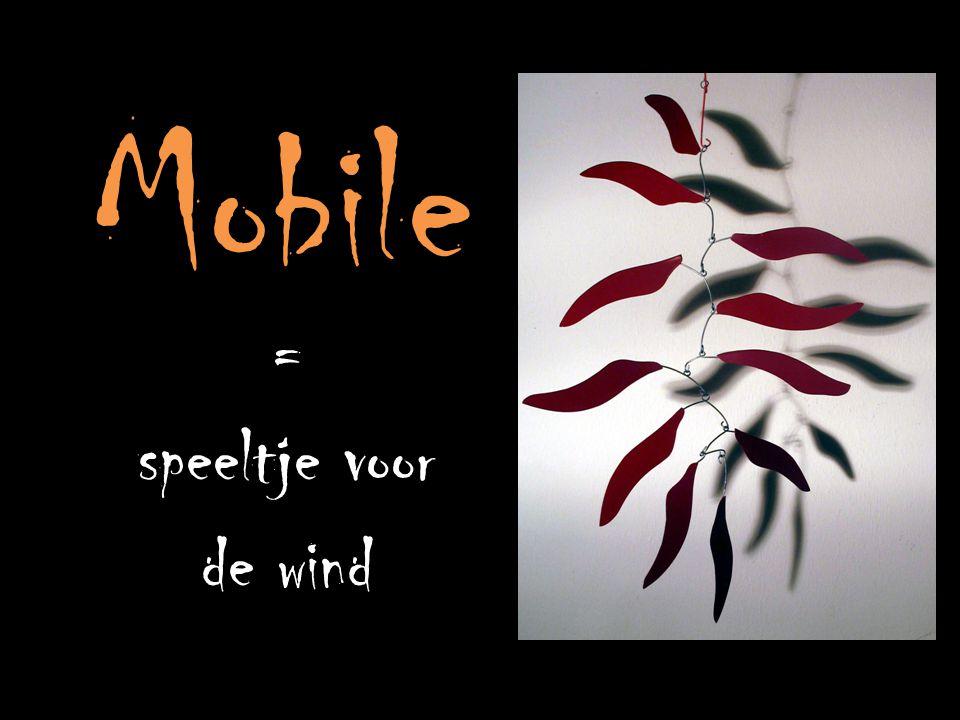 Mobile = speeltje voor de wind