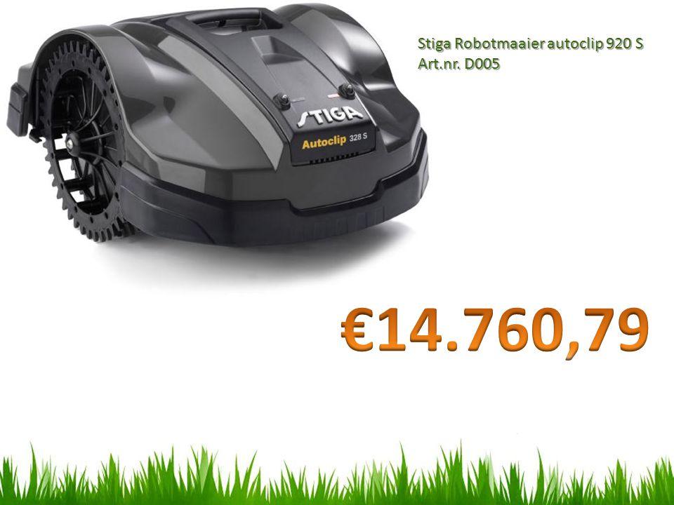Stiga Robotmaaier autoclip 920 S