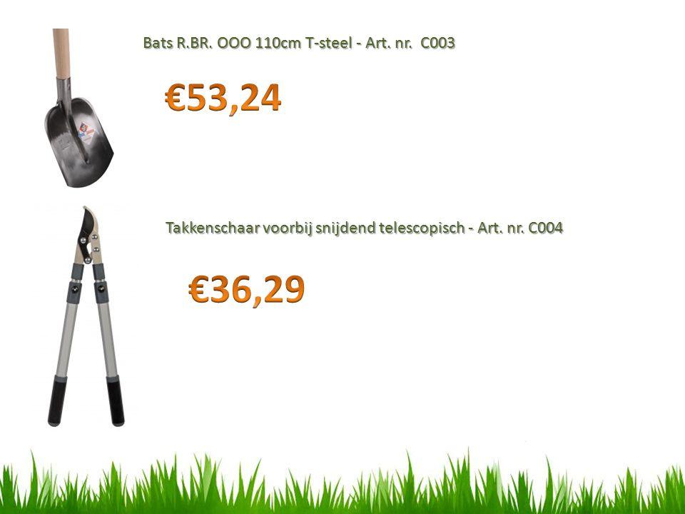 €53,24 €36,29 Bats R.BR. OOO 110cm T-steel - Art. nr. C003