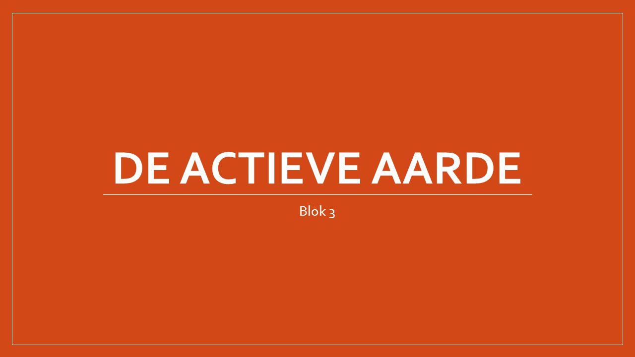 De actieve aarde Blok 3