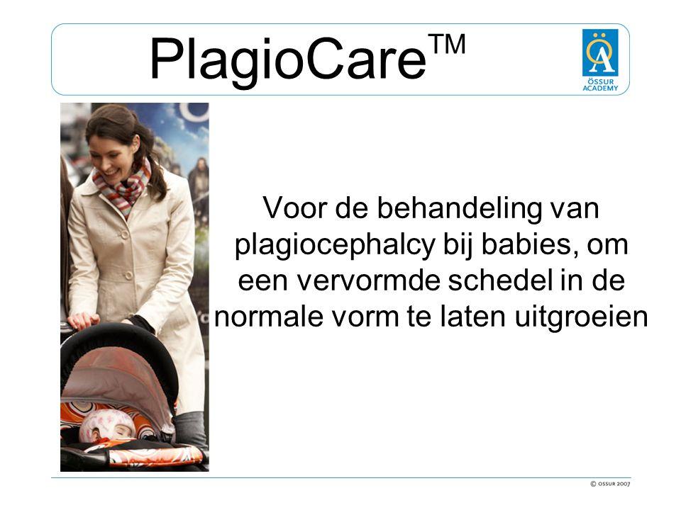 PlagioCareTM Voor de behandeling van plagiocephalcy bij babies, om een vervormde schedel in de normale vorm te laten uitgroeien.