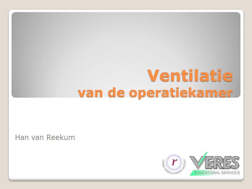 Ventilatie van de operatiekamer