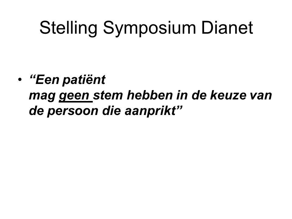 Stelling Symposium Dianet