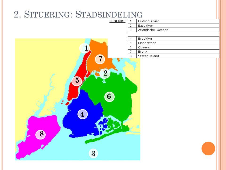 2. Situering: Stadsindeling
