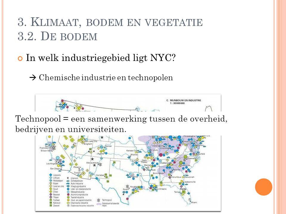 3. Klimaat, bodem en vegetatie 3.2. De bodem