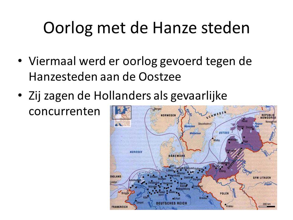 Oorlog met de Hanze steden