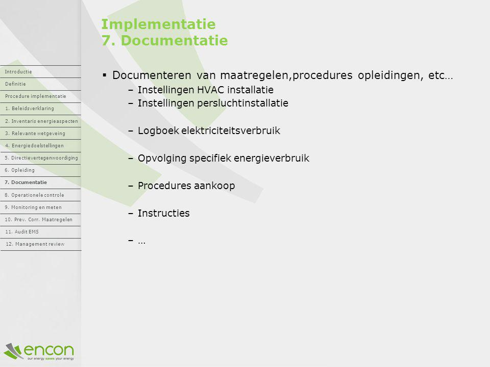 Implementatie 7. Documentatie