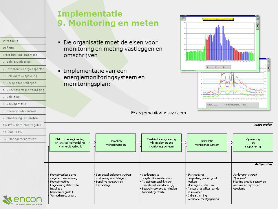 Implementatie 9. Monitoring en meten