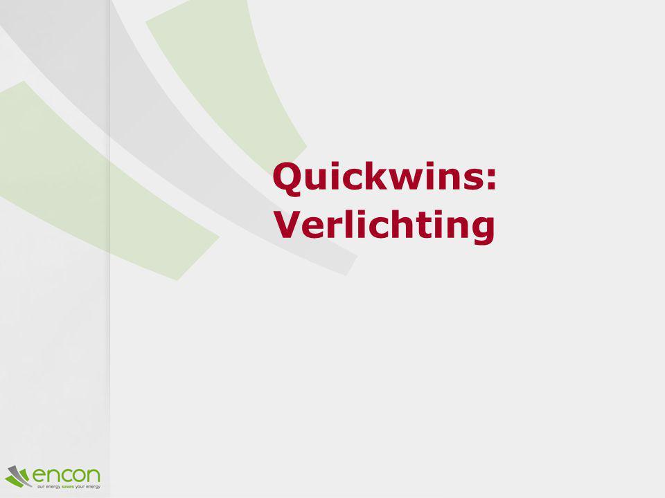 Quickwins: Verlichting