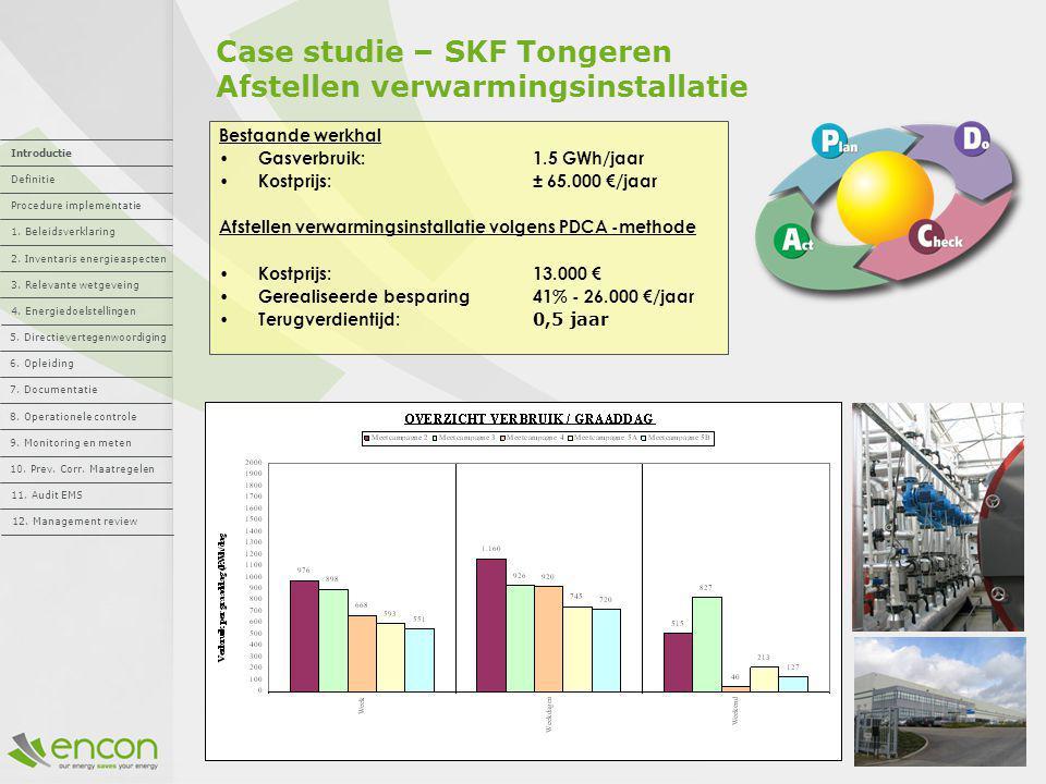 Case studie – SKF Tongeren Afstellen verwarmingsinstallatie