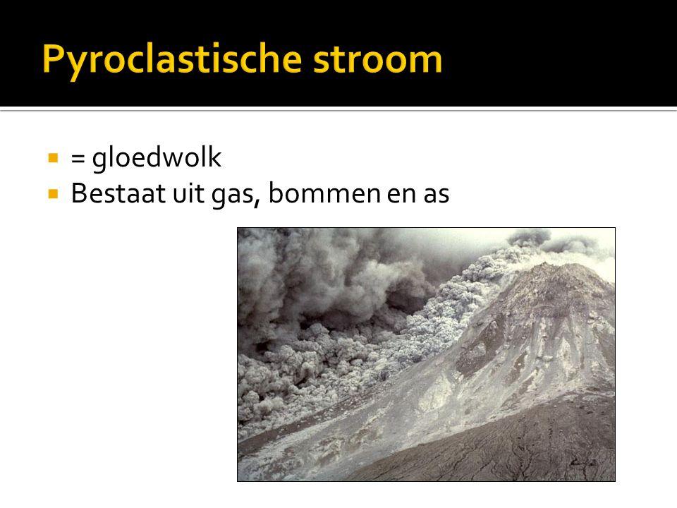 Pyroclastische stroom