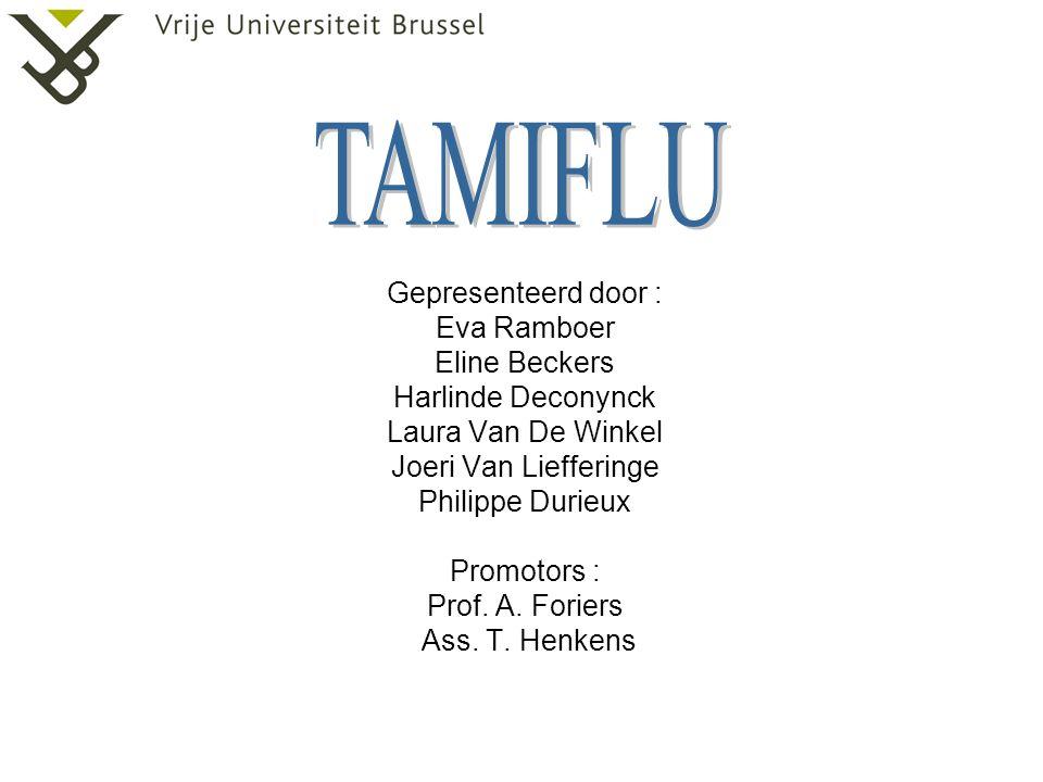 TAMIFLU Gepresenteerd door : Eva Ramboer Eline Beckers