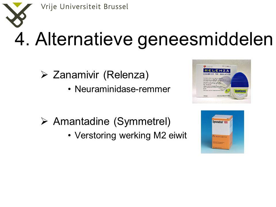 4. Alternatieve geneesmiddelen
