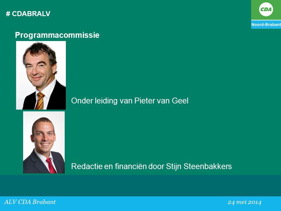 Onder leiding van Pieter van Geel