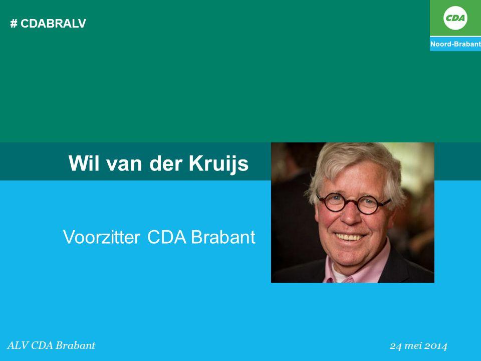 Voorzitter CDA Brabant