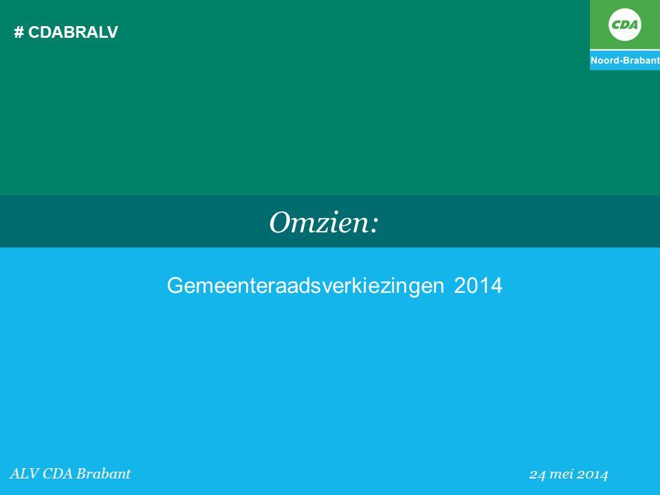 Gemeenteraadsverkiezingen 2014