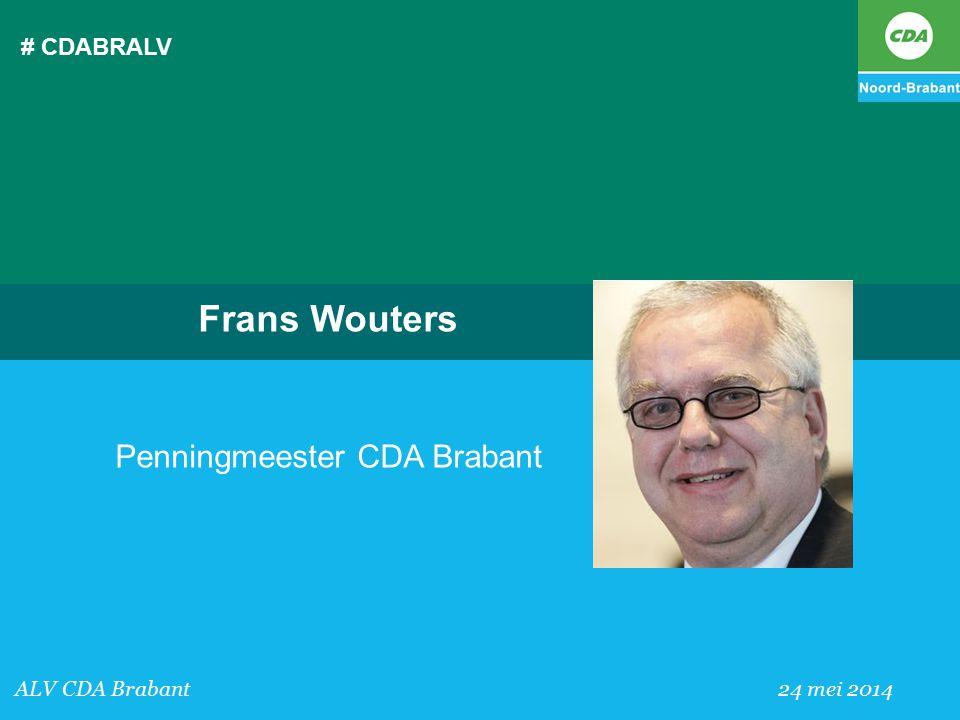 Penningmeester CDA Brabant