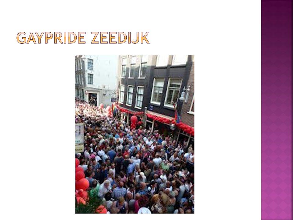 Gaypride Zeedijk