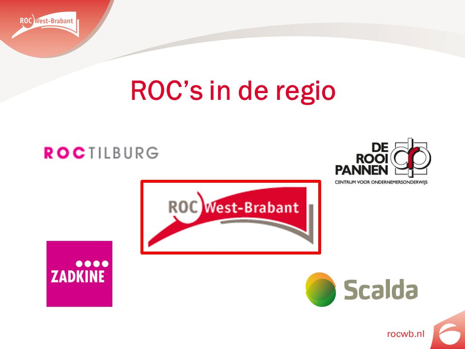 ROC's in de regio
