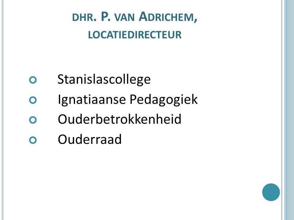 dhr. P. van Adrichem, locatiedirecteur