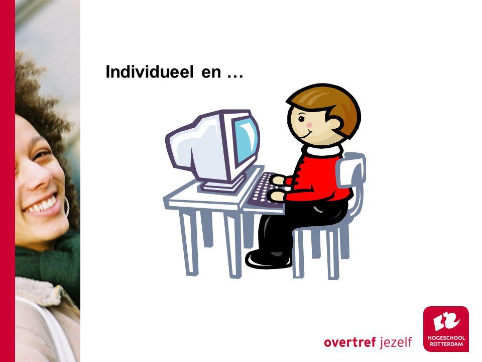 Individueel en …