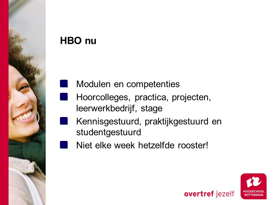 HBO nu Modulen en competenties