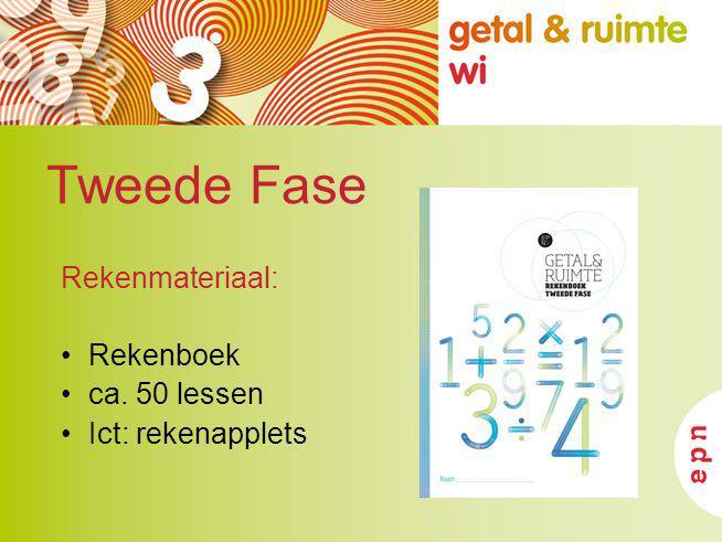 Tweede Fase Rekenmateriaal: Rekenboek ca. 50 lessen Ict: rekenapplets