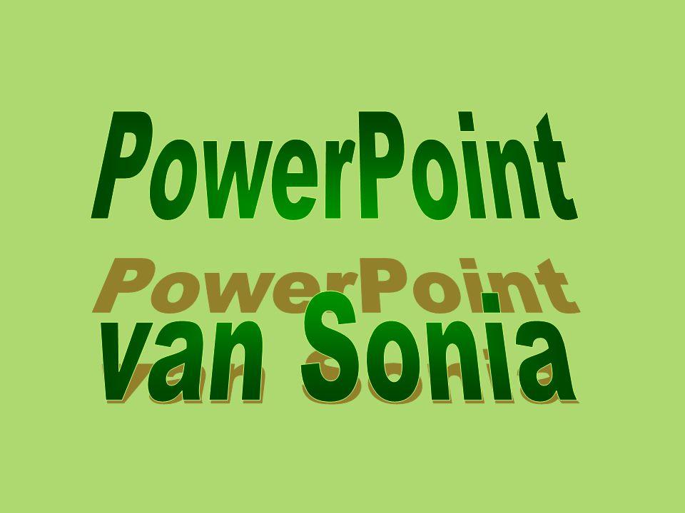 PowerPoint van Sonia