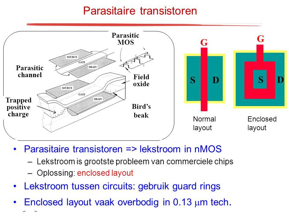 Parasitaire transistoren