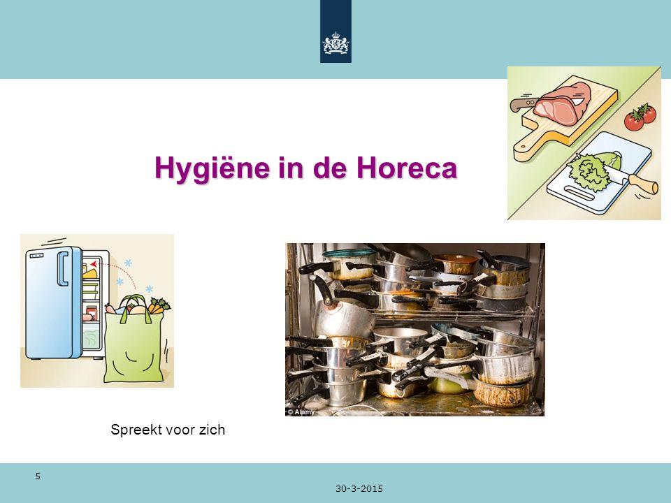 Hygiëne in de Horeca Spreekt voor zich 9-4-2017