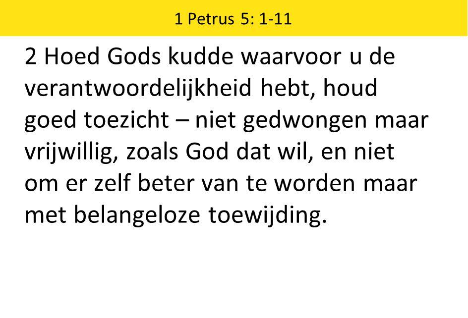 1 Petrus 5: 1-11