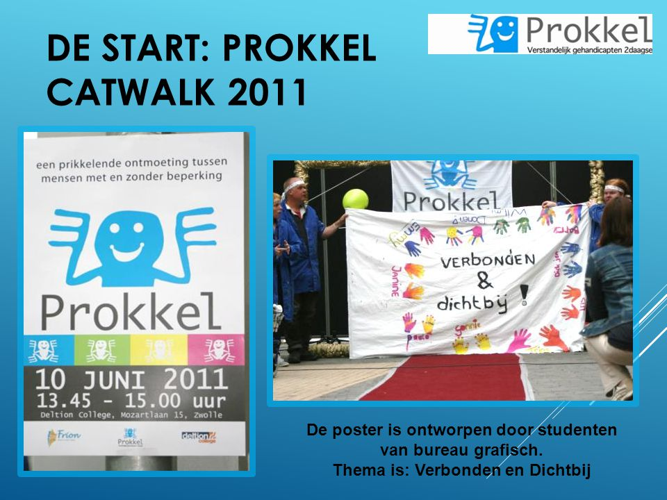 De start: Prokkel catwalk 2011