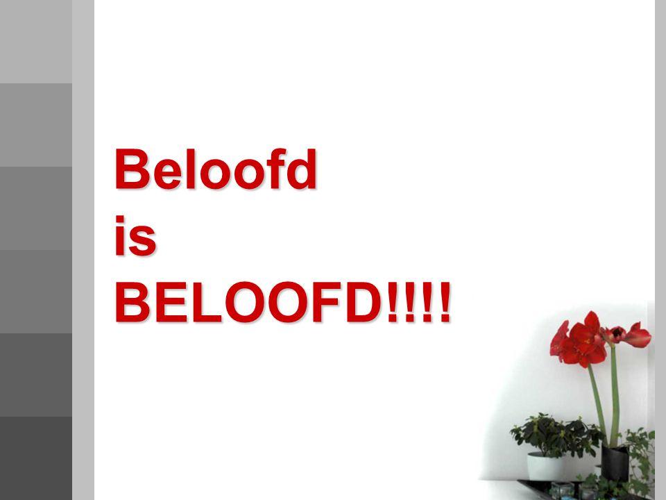 Beloofd is BELOOFD!!!!