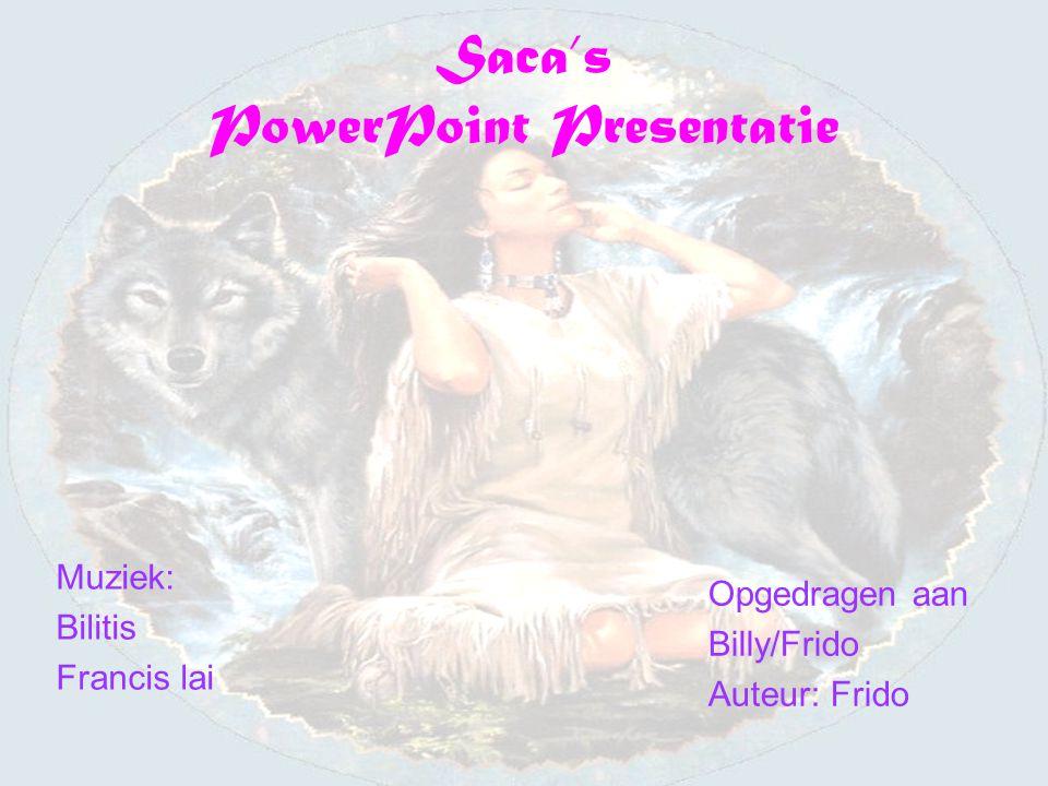 Saca's PowerPoint Presentatie