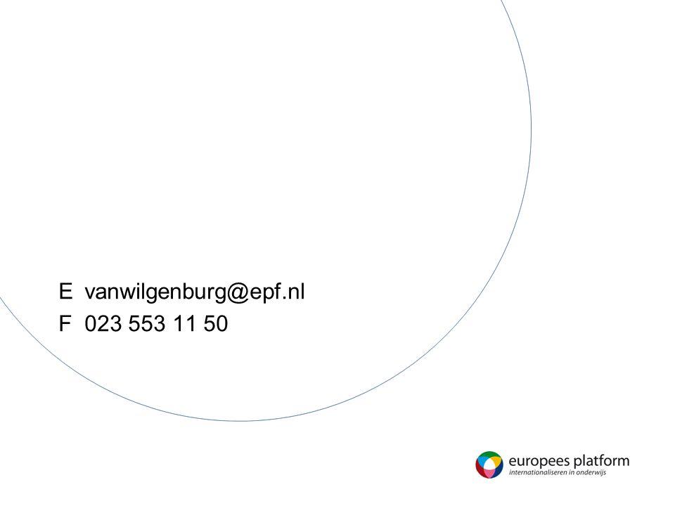 E vanwilgenburg@epf.nl F 023 553 11 50