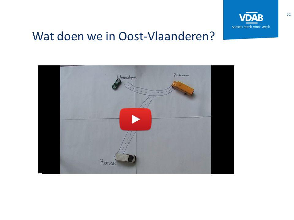 Wat doen we in Oost-Vlaanderen