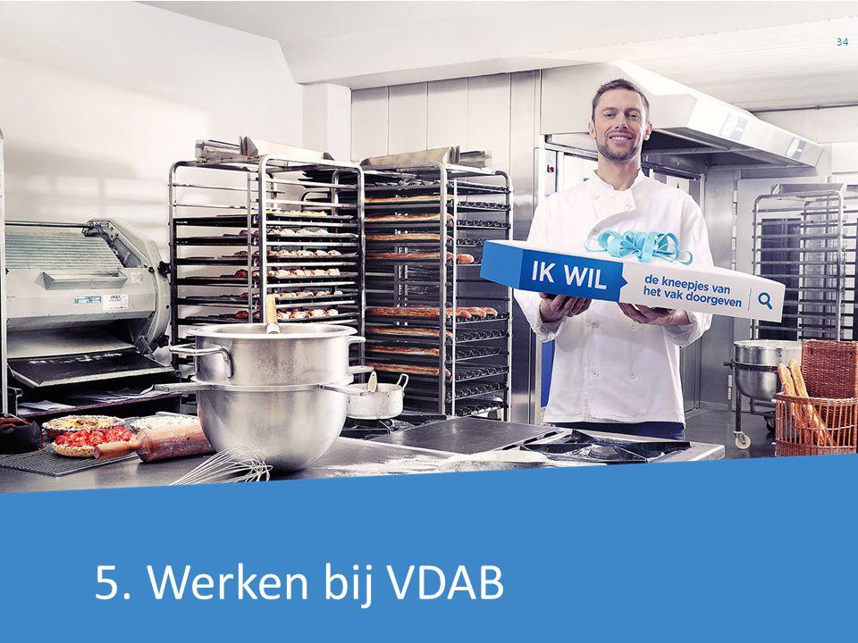 Lieve 5. Werken bij VDAB