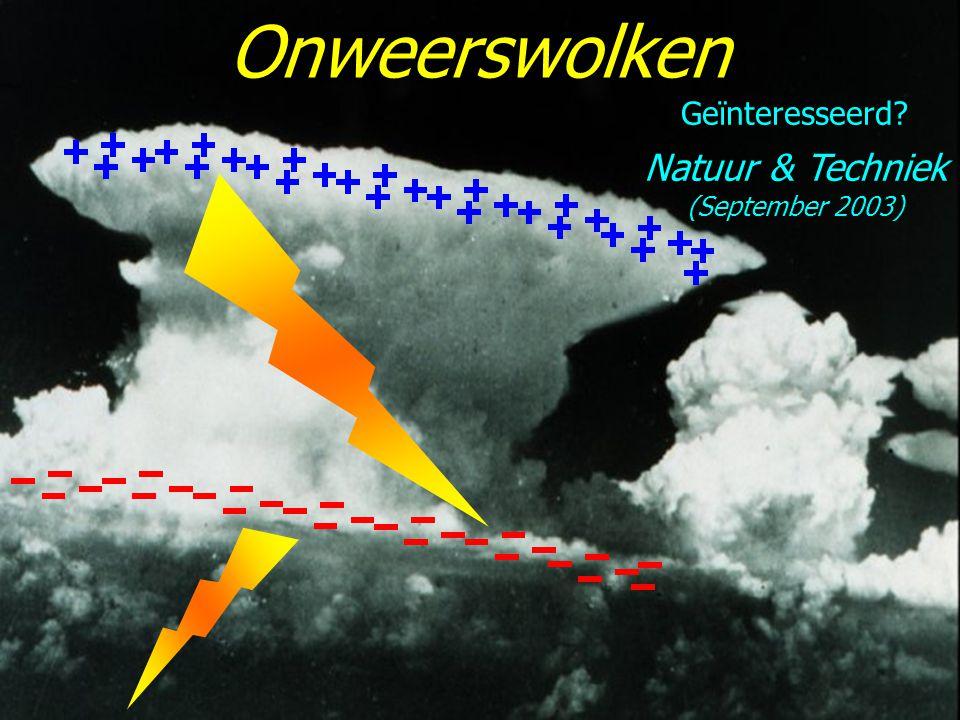 Onweerswolken Geïnteresseerd Natuur & Techniek (September 2003)