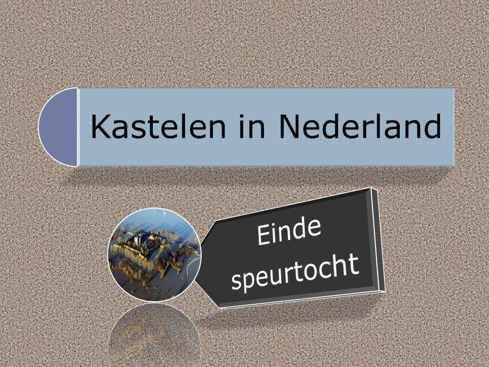 Kastelen in Nederland Einde speurtocht