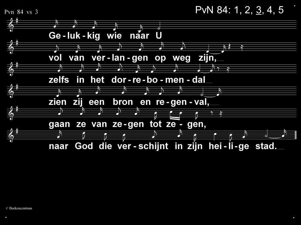 . PvN 84: 1, 2, 3, 4, 5 . .