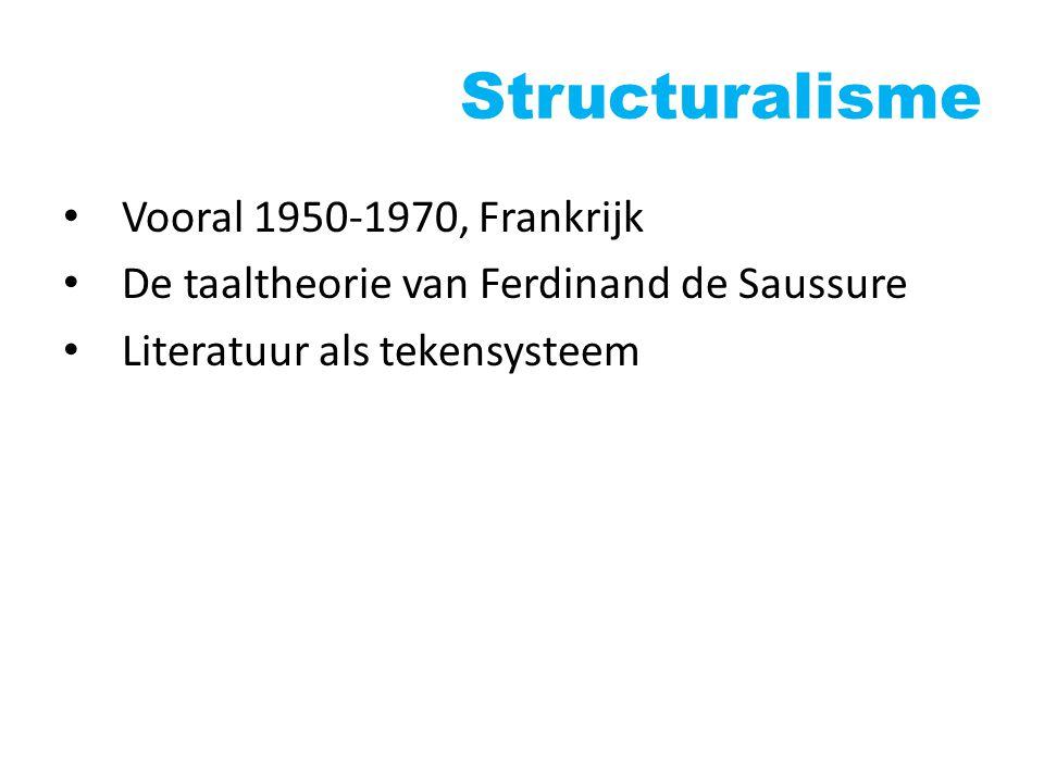 Structuralisme Vooral 1950-1970, Frankrijk