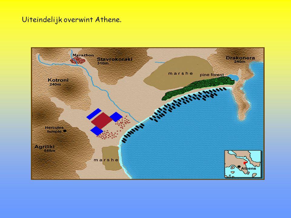 Uiteindelijk overwint Athene.