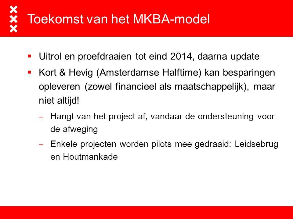 Toekomst van het MKBA-model