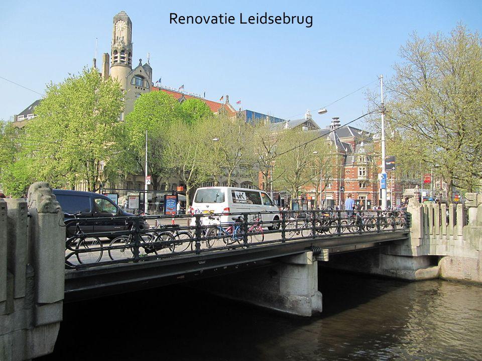 Renovatie Leidsebrug Een voorbeeld