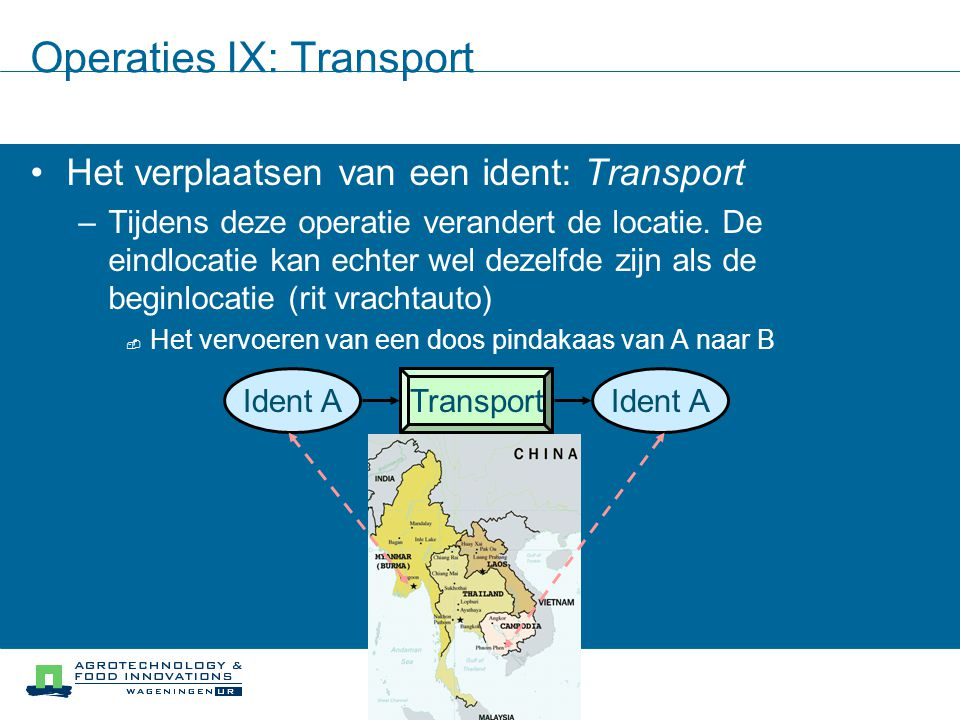 Operaties IX: Transport