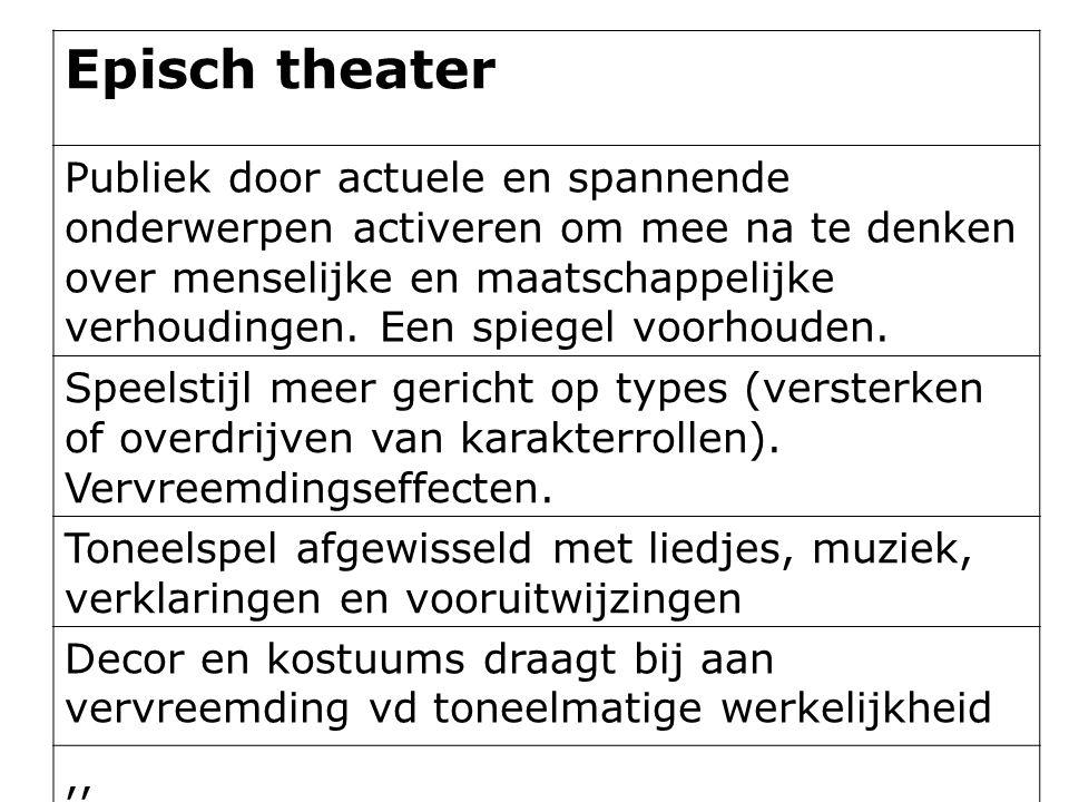 Episch theater