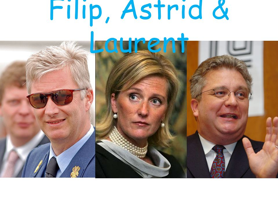 Filip, Astrid & Laurent