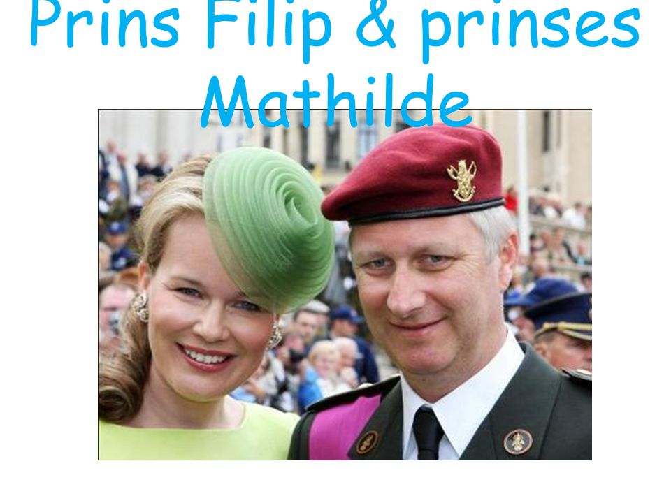 Prins Filip & prinses Mathilde