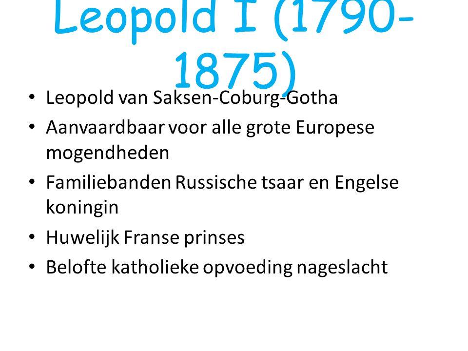 Leopold I (1790-1875) Leopold van Saksen-Coburg-Gotha